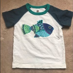 Tea Collection fish shirt